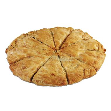 ROUND COUNTRY PIE WITH SPINACH-VEGETARIAN 4x2,2kg