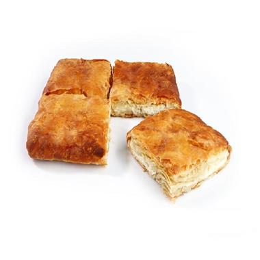 SQUARE COUNTRY PIE WITH MIZITHRA-FETA CHEESE 7x1kg.
