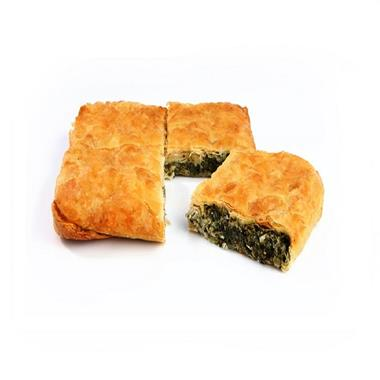 SQUARE COUNTRY PIE WITH GREENS 7x1kg.(VEGETARIAN)