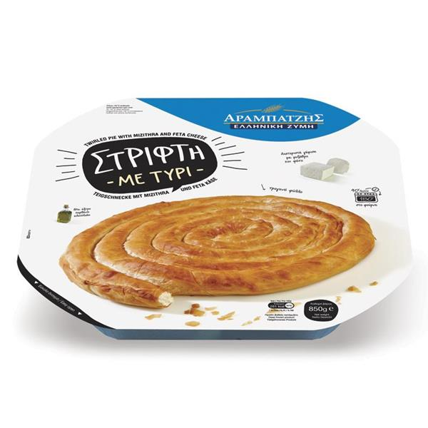 TWIRLED PIE WITH MIZITHRA-FETA CHEESE 6x850g.(EL,EN,DE)