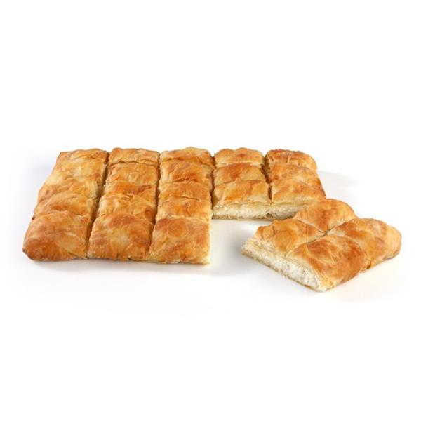 SQUARE COUNTRY PIE WITH MIZITHRA-FETA CHEESE 5x2kg. (35cmX29cm)