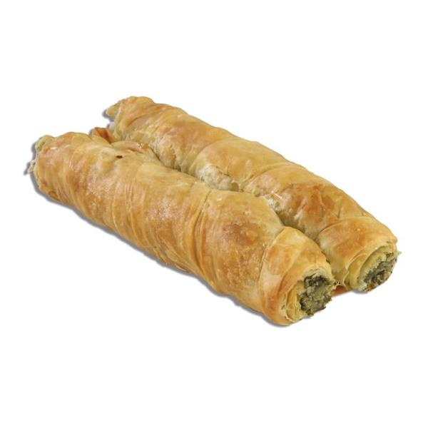 ROLL SPINACH-MIZITHRA-FETA CHEESE WITH OLIVE OIL 50x140g.