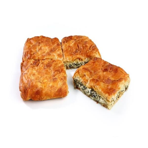 SQUARE COUNTRY PIE WITH GREENS & CHEESE 7x1kg.