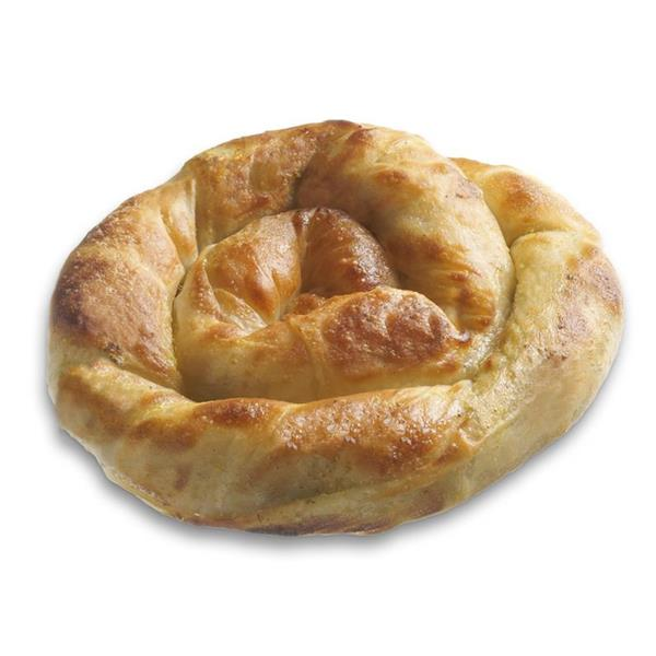 TWIRLED PIE WITH SPINACH-MIZITHRA-FETA CHEESE 40x220g.
